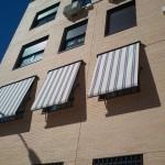 toldos edificios en Alcobendas