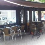 restaurante con pergola en vicalvaro