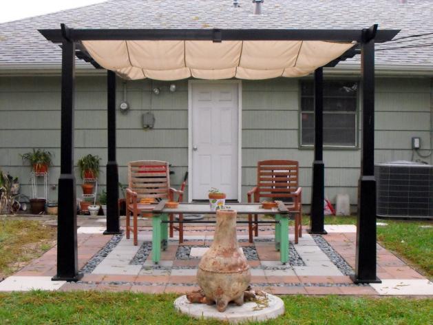 Toldos p rgola para terrazas toldos roama tel 91 477 18 00 for Cenador para jardin
