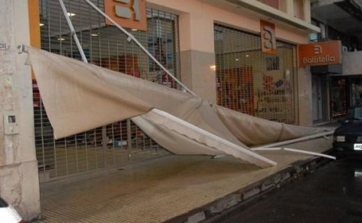 Precaución con el viento